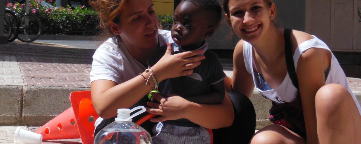 Laura Bescos en Campos Solidarios