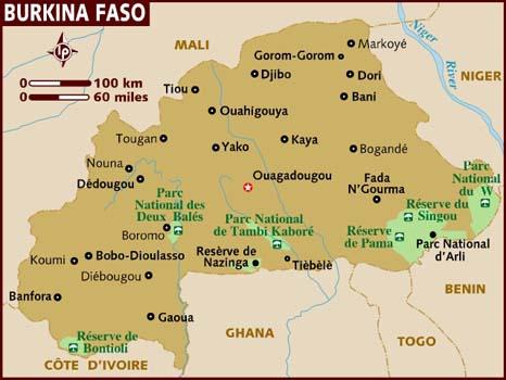 mapa-de-burkina-faso