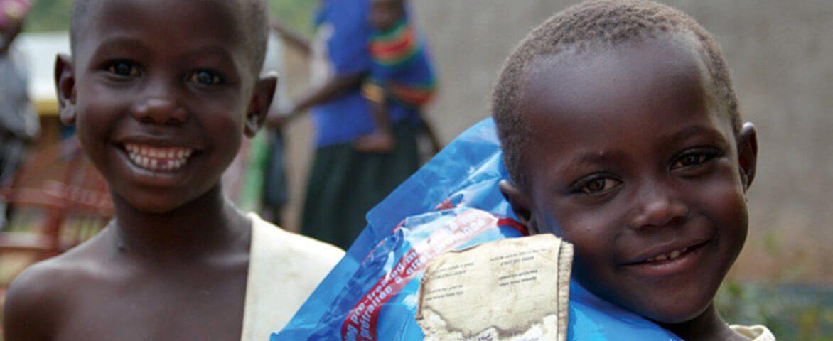 Niños en Tanzania Misioneros África